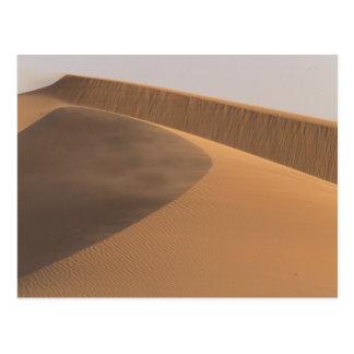 Morocco, Sand Dunes, Draa Valley Postcard