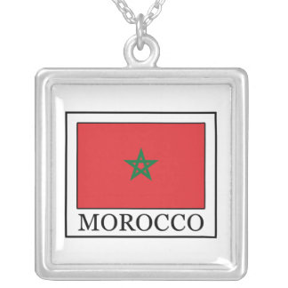 Morocco Silver Plated Necklace
