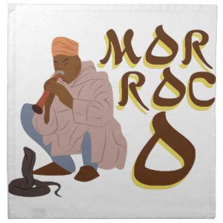 Morocco Snake Charmer Napkin