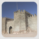 MOROCCO, South of the High Atlas, OUARZAZATE: Square Stickers