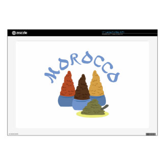 Morocco Spices Decal For Laptop