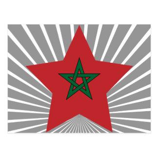 Morocco Star Postcard