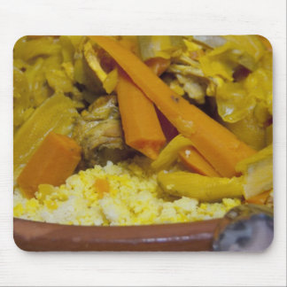 Morocco, Tetouan. Traditional Moroccan meal of Mouse Pad