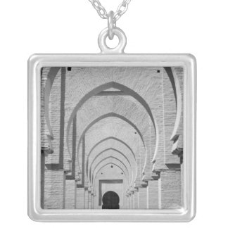 MOROCCO, Tizi, N, Test Pass Road, TIN MAL: Silver Plated Necklace