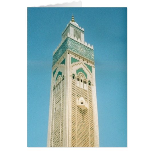 morocco tower card