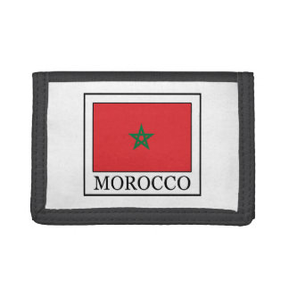 Morocco Trifold Wallets