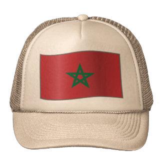 Morocco waving, Morocco Mesh Hat
