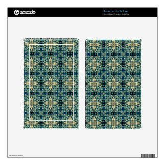 Moroccon inspired design skin for kindle fire