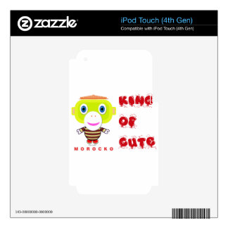 Morocko - KingOfCute Decal For iPod Touch 4G