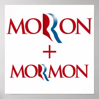 Moron and Mormon.png Print