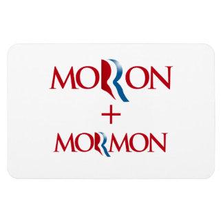 Moron and Mormon.png Rectangular Photo Magnet