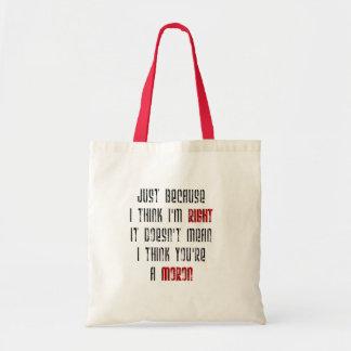 Moron Budget Tote Bag