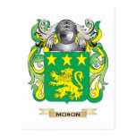 Moron Coat of Arms (Family Crest) Post Cards