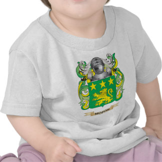 Moron Coat of Arms Family Crest T Shirts