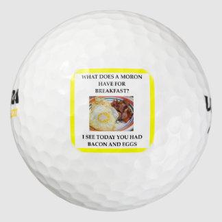 MORON GOLF BALLS