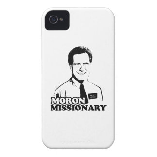 MORON MISSIONARY ROMNEY Case-Mate iPhone 4 CASES