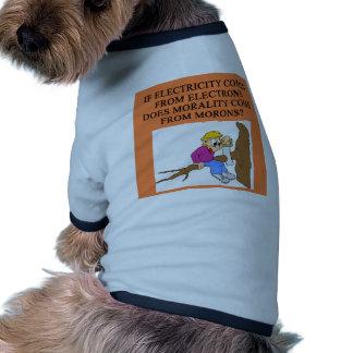 moron morality pet clothing