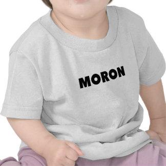 moron png tee shirt