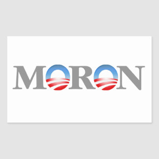 Moron Sticker