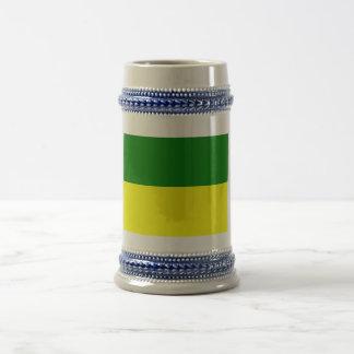Morona-Santiago flag 18 Oz Beer Stein