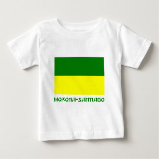 Morona-Santiago flag with Name Baby T-Shirt