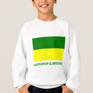 Morona-Santiago flag with Name Sweatshirt
