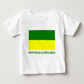 Morona-Santiago flag with Name Tshirts