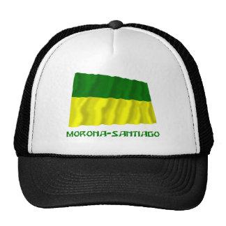 Morona-Santiago waving flag with Name Trucker Hat