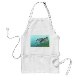 Morone atlántico Saxatilis de los pescados de la l Delantales
