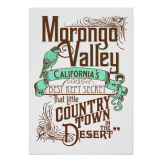 Morongo Valley California's Best Kept Secret Poster