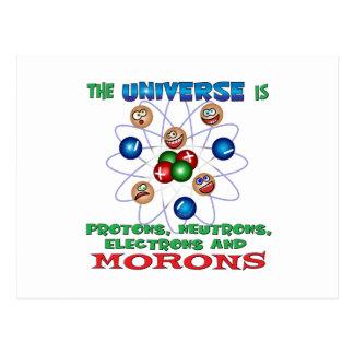 Morons Postcard