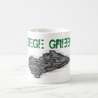 Moros Dreadnought  was meant to Siege Green Classic White Coffee Mug