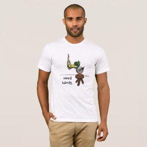 Morose Mallard - 'Hands' T-Shirt