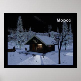 Moroz - Frost Póster