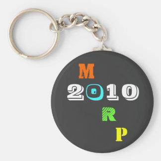 Morp 2010 basic round button keychain