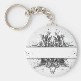 Morph Basic Round Button Keychain