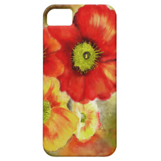 Morpheus's Abstract Red Poppies iPhone SE/5/5s Case