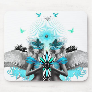 Morphic Angels mousemat white Mouse Pad