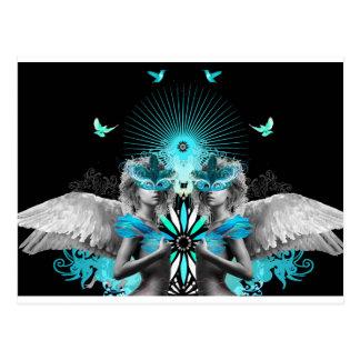Morphic Angels post card