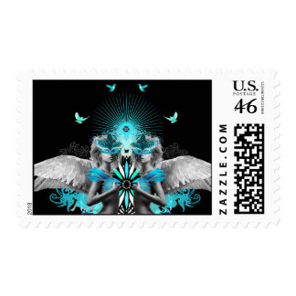 Morphic Angels post stamp