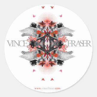 Morphic Angels sticker