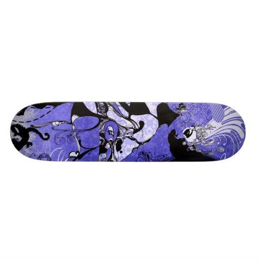 Morphicheist  signature skateboard