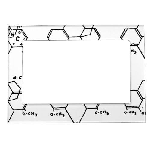 Morphine Compounds Magnetic Photo Frame