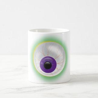 Morphing Bloodshot 3D Zombie Eye Halloween Mug