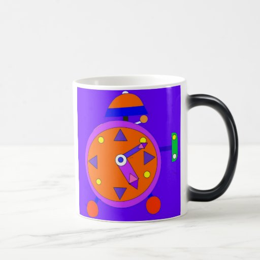Morphing Clock Mug