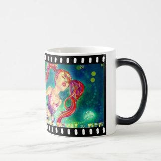 """Morphing """"Ink Girl"""" Mug"""