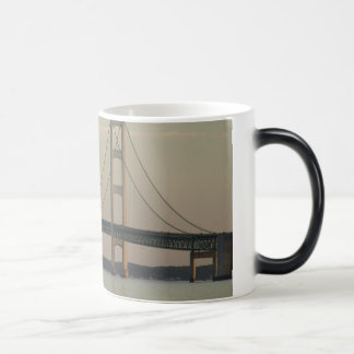 Morphing mackinac bridge mug