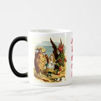 MORPHING: Mock Turtle & Gryphon Coffee Mugs