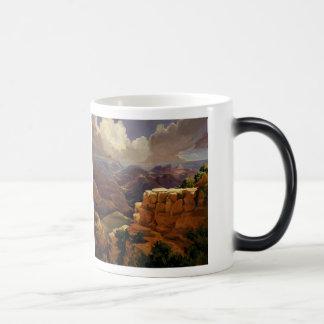 "Morphing Mug! ""Beyond the Divide,"" Susan Pitcairn Magic Mug"