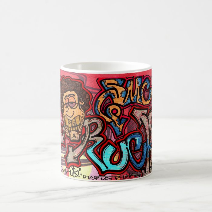 morphing mug! by berto magic mug